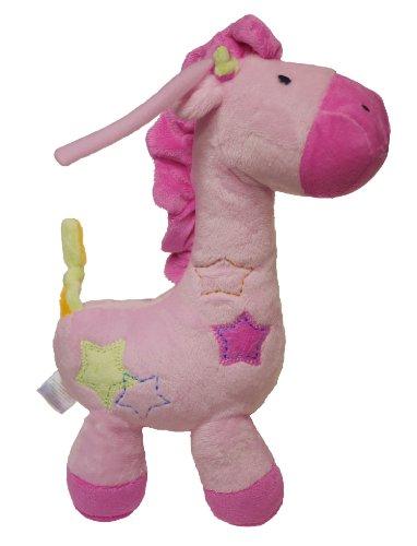 Carter Just One Year Pink Giraffe Musical Plush Toy