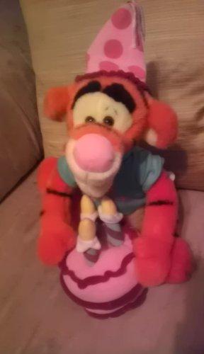 Disney Store Happy Birthday Tigger Musical Plush Toy