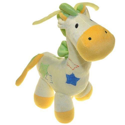 Eonkoo Super Soft Pull Doll Giraffe Educational Musical Plush Toys for Baby Shower Birthday