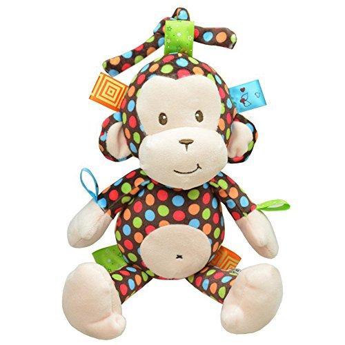 Musical Baby Plush Bedding Monkey Developmental Toy
