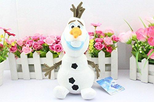 Tejoi Olaf Plush Kids Toys Kawaii 20cm Snowman Cartoon Plush Toys Doll Soft Stuffed Toys Brinquedos Juguetes Gift for Girl Baby kids children