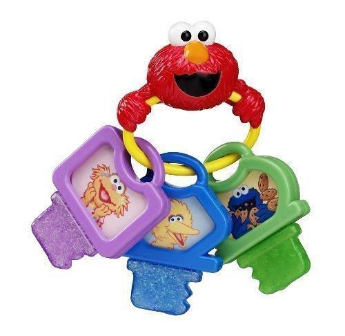 Sesame Street Clicky Keys Teether Toy Model 74065