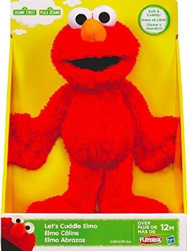 Sesame Street Playskool Lets Cuddle Elmo Plush by Sesame Street Toy by Sesame Street