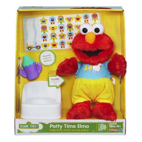 Sesame Street Playskool Potty Time Elmo Plush Toy