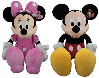 Disney Giant Mickey Mouse Minnie Mouse Plush Toy -- 41