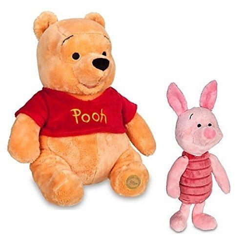 Winnie the Pooh 355cm  Piglet 28cm Plush Toy Set of 2 Disney Store Winnie the Pooh Plush - 14  Piglet Plush - 11  parallel import goods