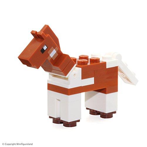 LEGO Minecraft MiniFigure - Minecraft Horse Animal From Set 21127