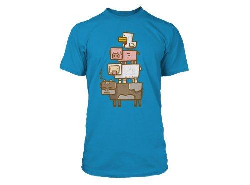 MINECRAFT Minecraft Animal totem animal Premium Mens T-shirt M japan import