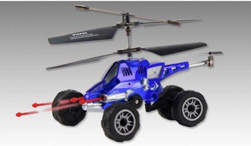 Multi-purpose LandAir Amphibious Missile Launching RC HelicopterCar RTDGWFL01L