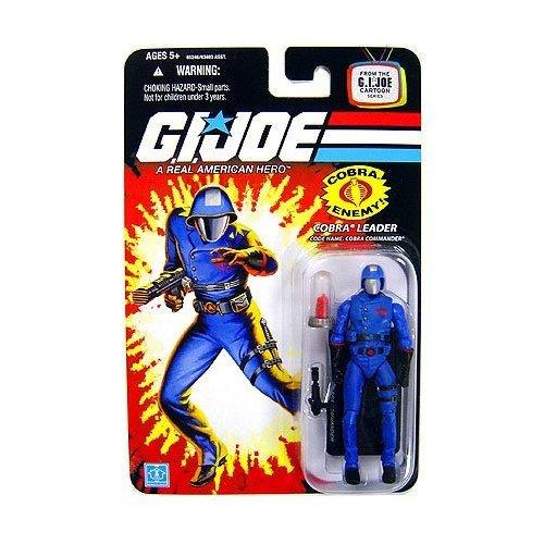 Cobra Commander with MASS Device Crystal - GI Joe 25th Anniversary Action