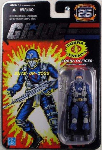 GI Joe 25th Anniversary Cobra Officer Action Figure