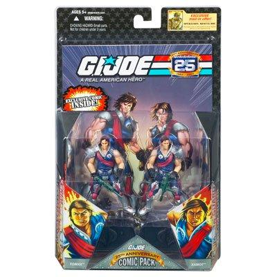 GI Joe 25th Anniversary - Comic 2-Packs Tomax Xamot