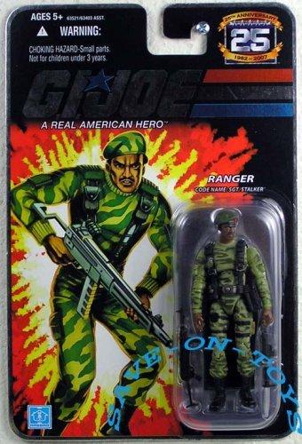 GI Joe 25th Anniversary Ranger SGT Stalker Action Figure by G I Joe
