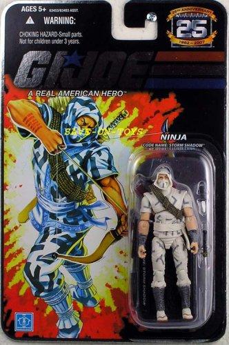 GI Joe 25th Anniversary Storm Shadow Action Figure