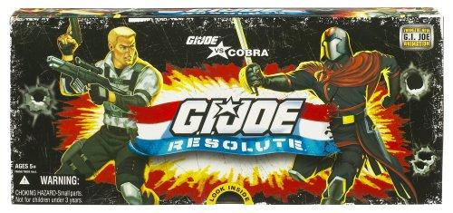 GI JOE vs Cobra RESOLUTE 3 34 inch Action Figure Collector 5 Pack