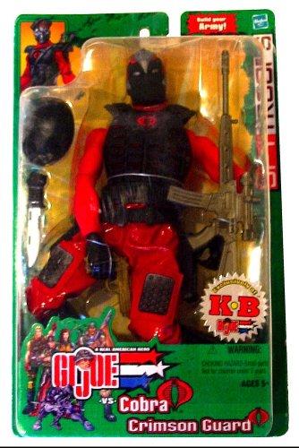 GI Joe SpyTroops 12 inch Cobra Crimson Guard KB excl