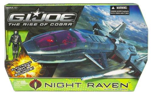 Gi Joe Movie 375 Echo Vehicle Night Raven with Air Viper