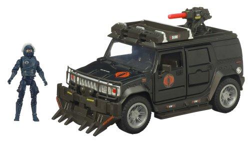 Gi Joe Movie Bravo Vehicle Steel Crusher H2 with Nitro Viper