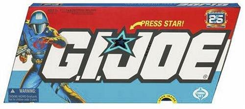 Hasbro GI Joe 25th Anniversary Cobra Villains 5-Pack