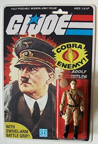 Hitler Novelty Action Figure Rare Gi Joe 375 inch