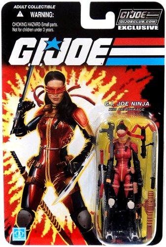 Kim Arashikage Jinx Ninja GI Joe Club Exclusive Action Figure