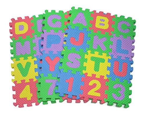 Teach Kids to Learn ABC English Alphabet Jigsaw Puzzle Toy Children Nursery Class Small Size 6x6 cm