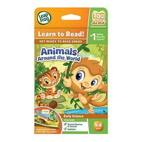 LeapFrog LeapReader Junior Book Animals Around the World