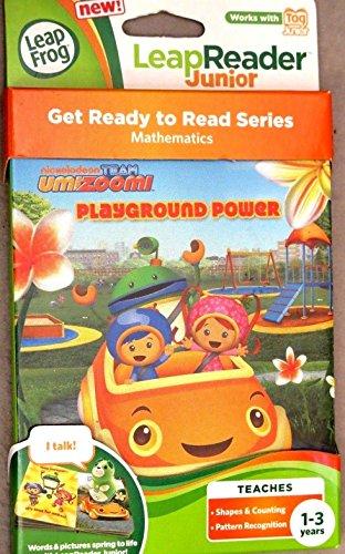 LeapFrog LeapReader Junior Book Nickelodeon Team Umizoomi Playground Power New