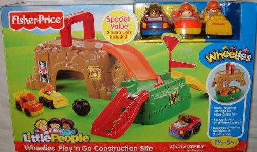 Little PeopleWheeliesTM Play n Go Construction Site
