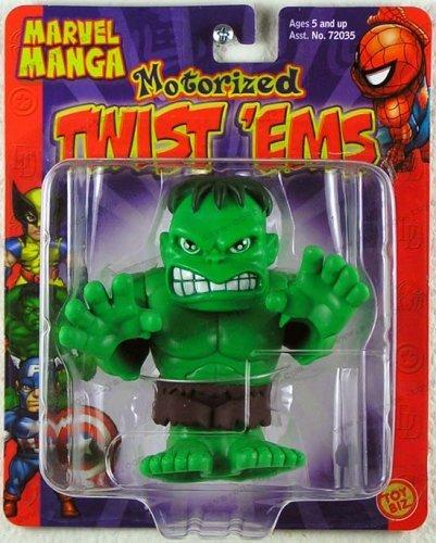 Marvel Manga Wobble Bobble Hulk Motorized by Toy Biz