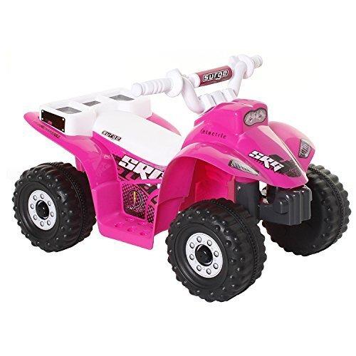 Dynacraft Surge Girls 6v Battery Powered Atv Battery Powered Kids Car by Dynacraft