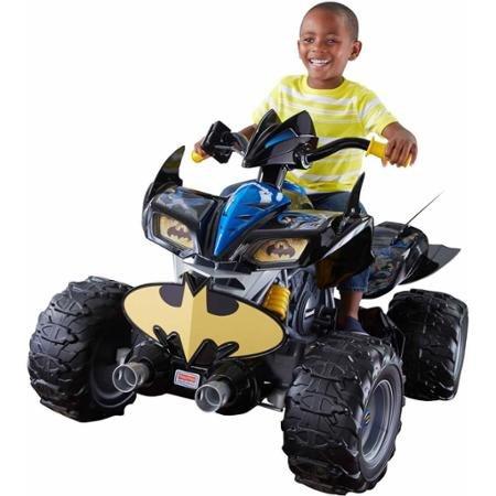 Fisher-Price Power Wheels DC Super Friends 12-Volt Battery-Powered Kawasaki Batman ATV