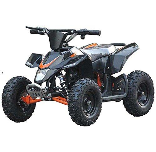 XtremepowerUS Mini Electric Sahara Quad Battery-Powered ATV Black