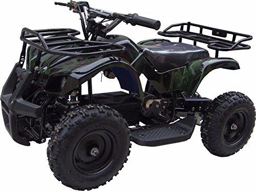 XtremepowerUS Mini Electric Sonora Quad Battery-Powered ATV Green