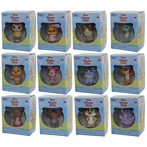 Funko Mini Vinyl Figures Winnie The Pooh Collection Display Case Set of 12