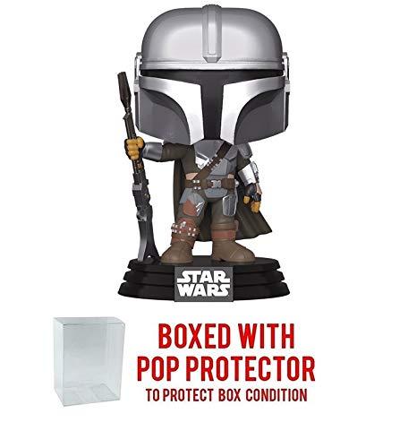POP Funko Star Wars The Mandalorian - The Mandalorian New Armor Vinyl Figure