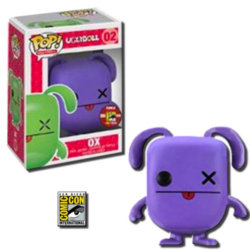POP Uglydolls OX Vinyl Toy Figure - Purple Variant 2012 SDCC Exclusive - Funko Toys