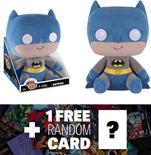 Batman Funko Mega POP Plush x The Nightmare Before Christmas  1 FREE Classic Disney Trading Card Bundle 086251