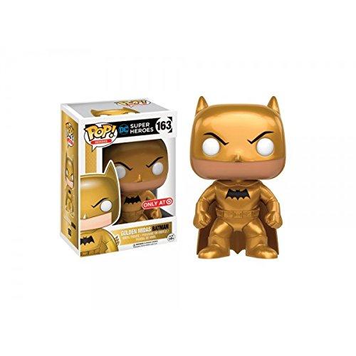 Funko Pop DC Super Heroes Golden Midas Batman Exclusive 163