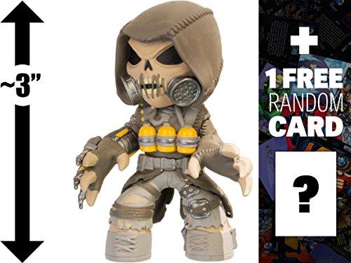 Scarecrow ~3 Batman Arkham x Funko Mystery Minis Vinyl Figure  1 FREE Official DC Trading Card Bundle 70724