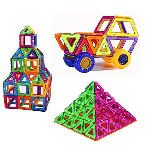 LPro Magnetic Building Block Toys 36 Pieces Starter Set Magnet Building Tiles Toy Bricks
