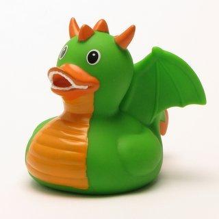 Rubber Duck Dragon green Bath Duck