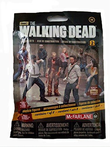 McFarlane Toys Construction Sets- The Walking Dead TV Series 2 Blind Bag Figure Walker Bag
