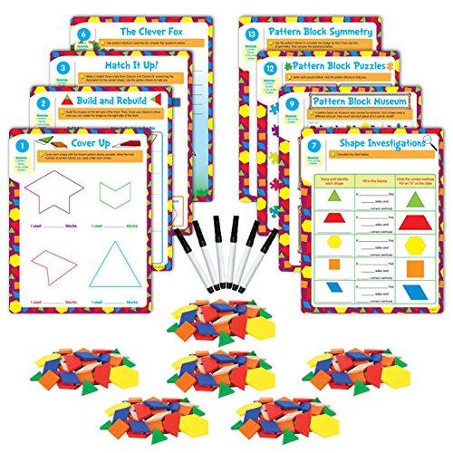 EAI Education Hands-On Math Centers Pattern Blocks - Grade 2