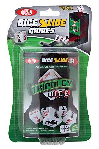 Ideal Tripoley Dice Slide Game