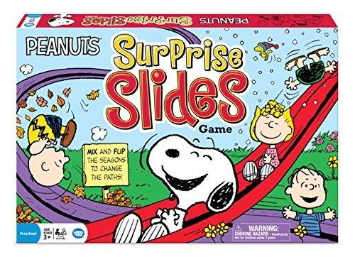 Peanuts Surprise Slides Game by Wonder Forge
