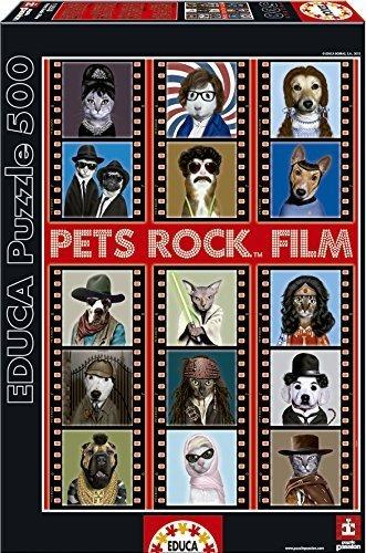 Educa Borras Puzzle Pets Rock Film 500 Pieces by Educa Borras