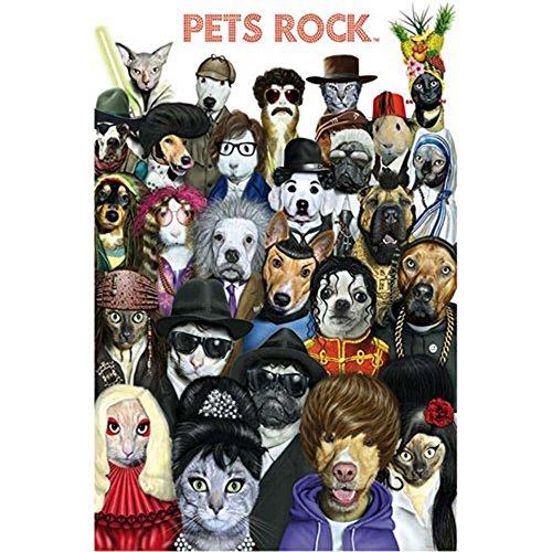 Pets Rock 1000-Piece Puzzle