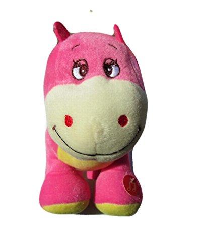 Singing 10 Pink Dinosaur ABC Musical Plush Plays A-B-Cs Plush Toy
