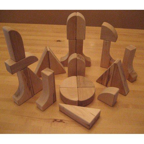 Beka Special Shapes Block Collection - 24 Piece Set